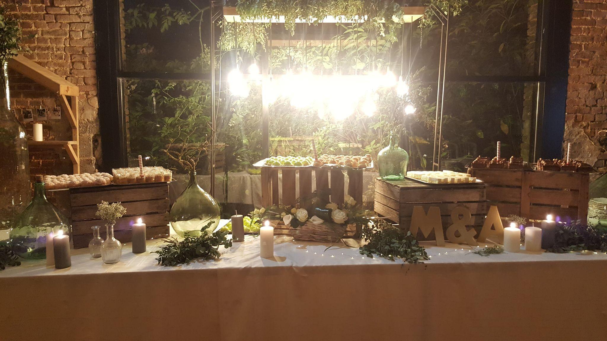 Buffet de dessert fdo