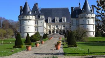 Le chateau de mesnieres en bray